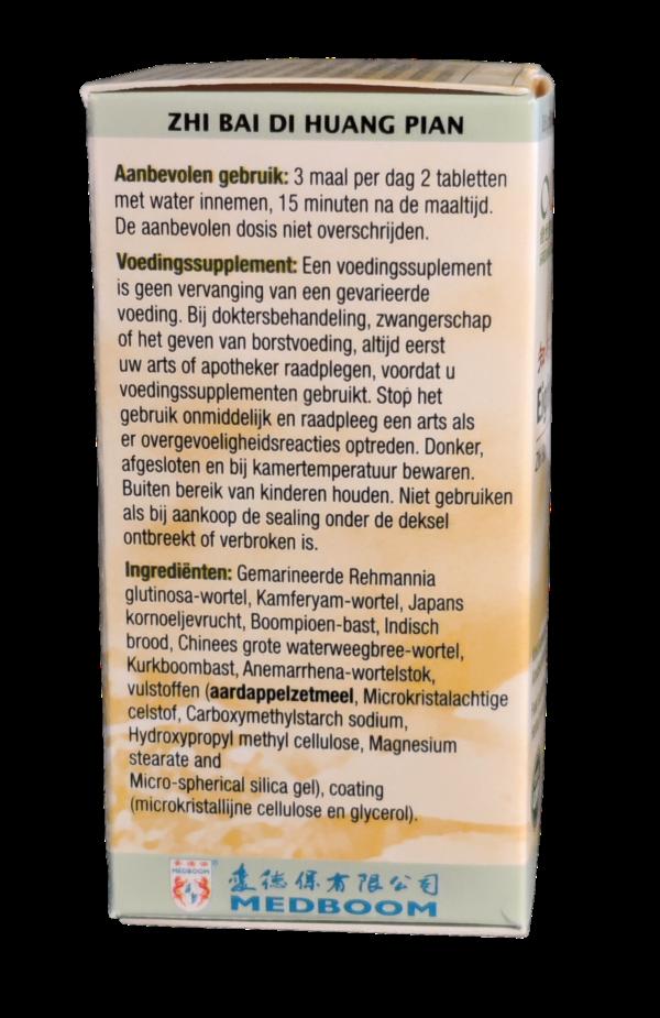 eight form 3 x per dag 2 tabletten