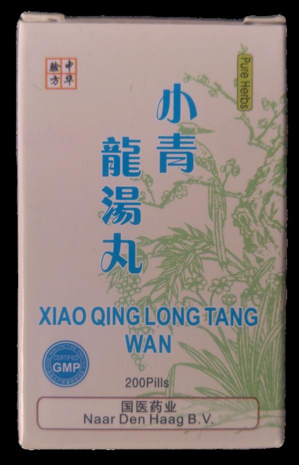 Xiao Qing Long Tang Wan bij hoest en astma