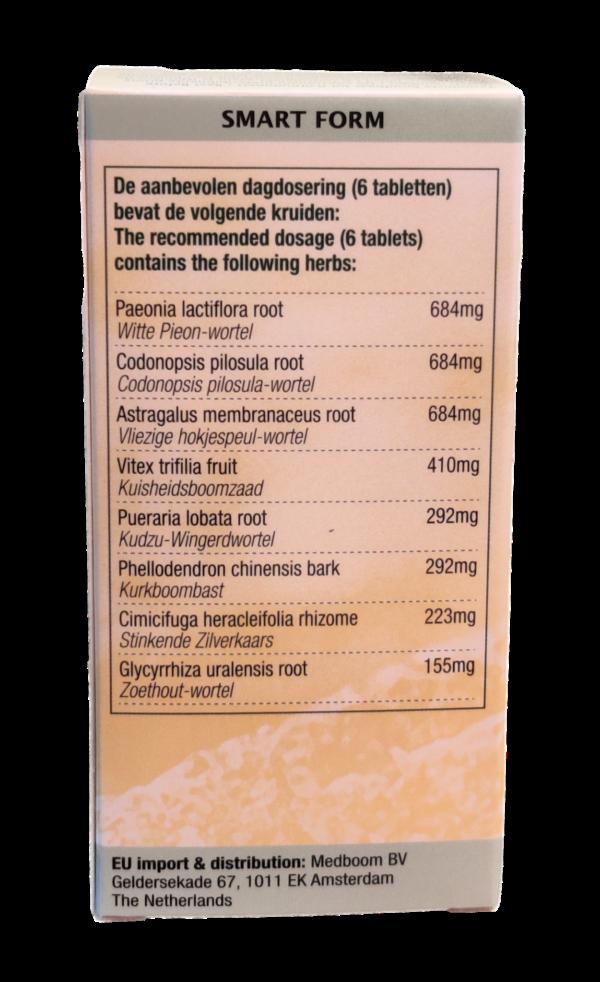 Smart form ingredienten